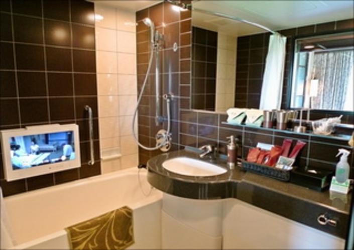 1002号室浴室(TV付)