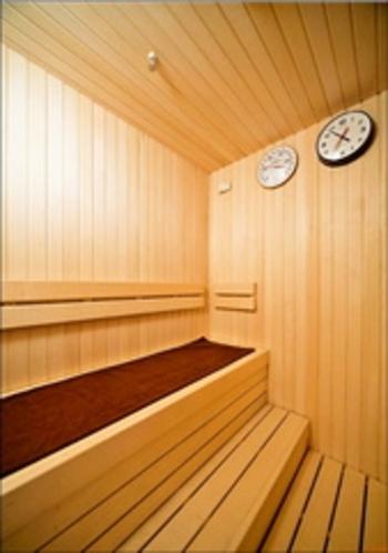 2F男性大浴場ドライサウナ室