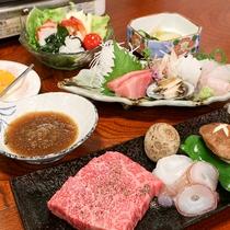 *[夕食一例]鮮度には自信のあるお魚料理も付きます