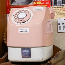 *[ピンクの公衆電話]今ではもう見かけなくなりましたね!