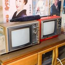 *[ブラウン管テレビ]昭和当時のまま残っています