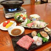 *[夕食一例]お肉もお魚も楽しめてお腹いっぱいの家庭料理