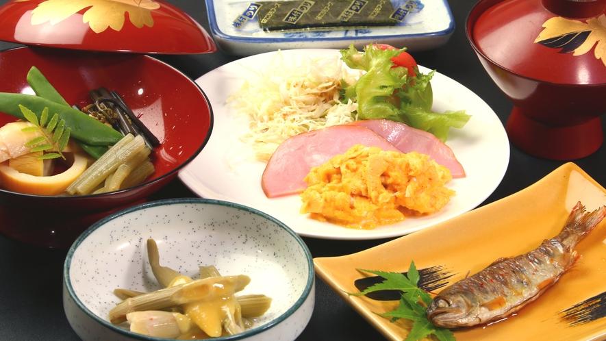 【朝食】ほっこり朝ごはんしっかり朝から召し上がってくださいね