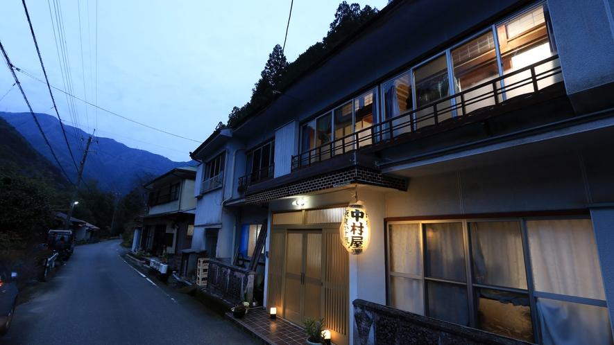 十津川村の秘境に佇む温泉民宿「中村屋」