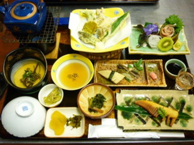 春の山菜ご膳