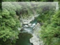 十津川の渓谷