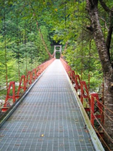 熊野古道三浦峠の釣りはし