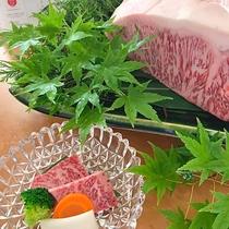 ★当館自慢の近江牛をご堪能ください。他にも近江牛を贅沢に使った近江牛会席もご用意しております。