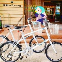 【レンタサイクル】自転車を刷新しました!GIANT製のミニベロ「TEN」舞子号と雄松号です★