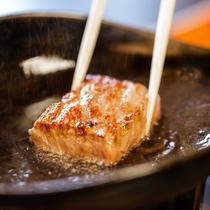 *近江牛のロースステーキ