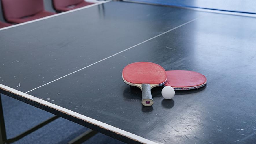 *【卓球ルーム】無料でご利用いただける卓球。みんなでワイワイ楽しみましょう♪