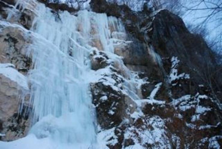 しもなの郷 氷の滝鑑賞ツアー 赤滝