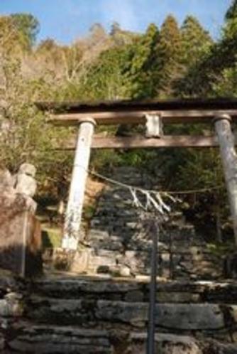 安居土居地区 神秘的でした☆氷室神社(氷室の道)1