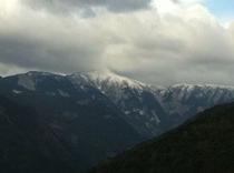 仁淀川町中津明神山 撮影地は大平地区という標高の高い集落からである