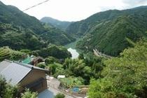 寺村地区より仁淀川がよく見える 絶景の場所