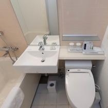 【客室】バスルーム(セミダブル・スタンダードツイン・ダブル共通)