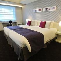 【客室】ジュニアスイート 58.1平米 ベッドルーム