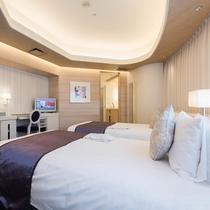 【客室】コーナーツインルーム 36.4平米