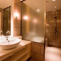【客室】ロイヤルスイートルーム 60.8平米 洗面