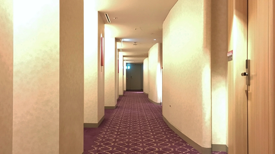 □客室階 南側廊下