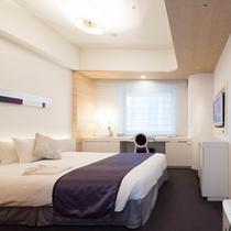 【客室】セミダブルルーム 20.7平米