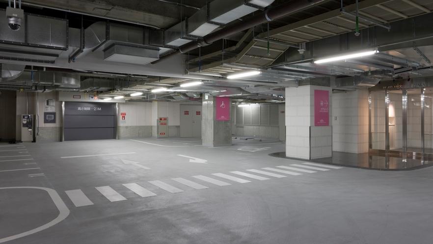 □地下2階 ホテル 駐車場