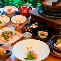 6階 日本料理『桂』 ディナー一例