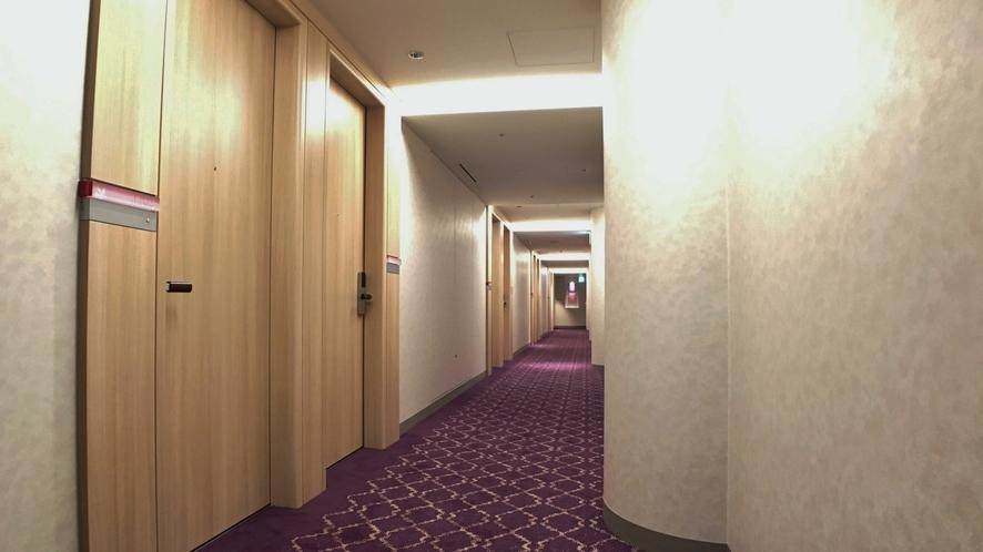□客室階 北側廊下