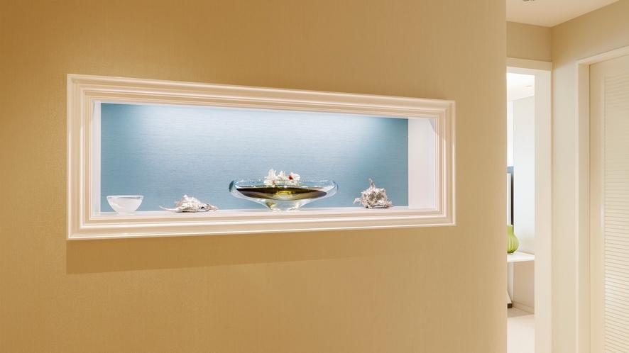 □【客室】デラックスツインルーム 44.1平米