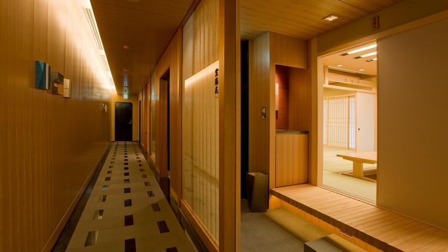 □6階 日本料理『桂』 座敷