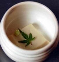 自家製ゴマ豆腐