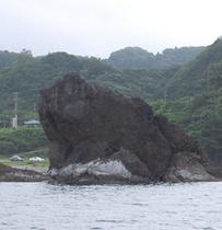 かえる島(山陰海岸ジオパーク)