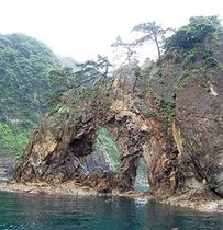 めがめ島(山陰海岸ジオパーク)