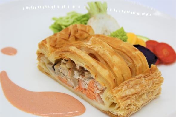 【1泊2食付】シェフオリジナル本格フレンチディナー付【メイン お魚料理】