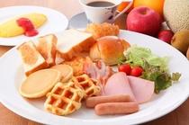 朝食バイキングメニュー一例