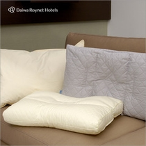 全部で6種類の枕からお選びいただけます。お部屋にあるご案内をご参照ください。