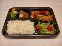 (7)白身魚と野菜の黒酢あんかけ弁当★