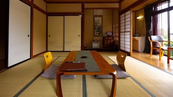 海を望む和室10畳と広縁付き(1階)禁煙