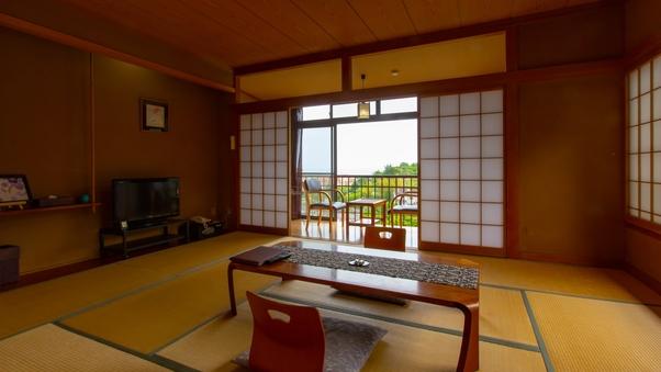 海を望む和室10畳と広縁付き(2階)禁煙