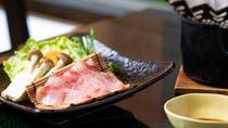 お料理一例(金目鯛のしゃぶしゃぶ)