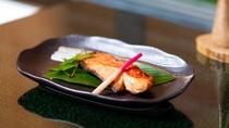 お料理一例(金目鯛の切り身)