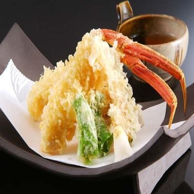 【冬の基本会席】小宿だからできる、地物活松葉蟹の「食し方」から始まる 活松葉蟹プラン