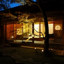 【特別室 雲井】庭からの風景