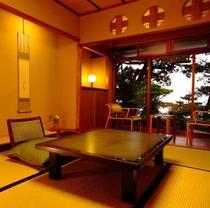 【浦島・清香軒の間】6帖。数寄屋造り本来の姿を凝縮したお部屋です