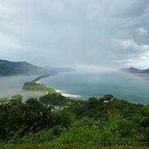日本三景「天橋立」。小亭は天橋立の対岸にございます。