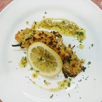 【夕食】サーモンのオーブン焼き