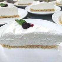 【デザート】レアチーズケーキ