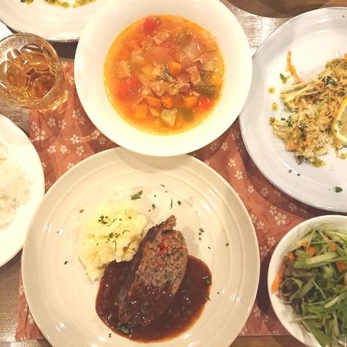 【ディナー】夕食を並べてみました