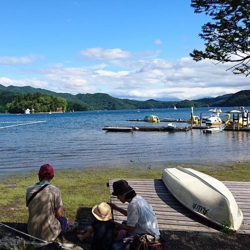 野尻湖ピクニック