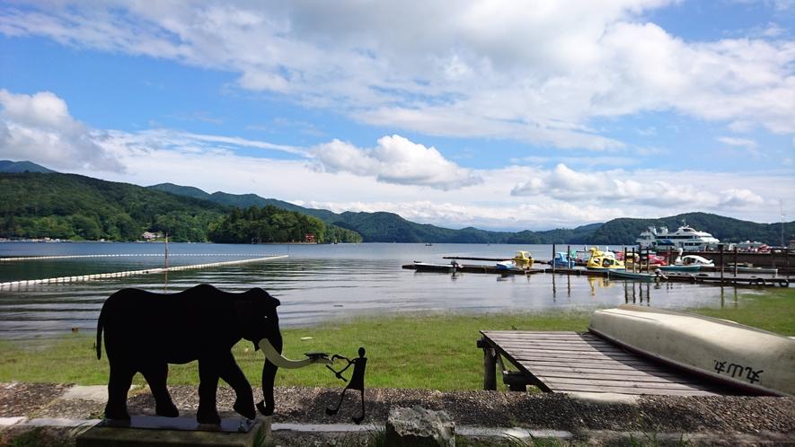 野尻湖で遊ぶ!